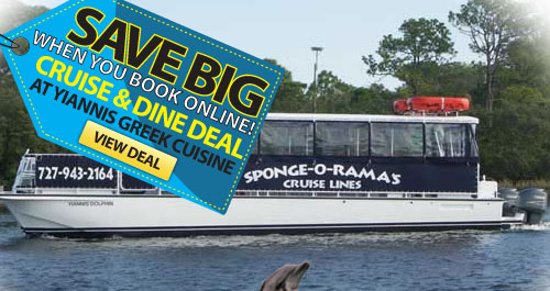 yiannis cruise & dine package